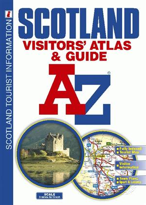 Scotland Visitors Atlas and Guide, A-Z Map