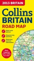 2013 Britain Road Map, Folded Map - Collins