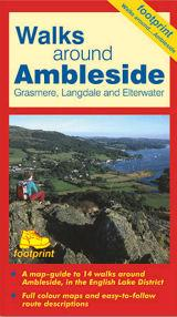 Ambleside, Grasmere, Langdale Etterwater, Lake District, Cumbria, England - Footprint Maps - Walking