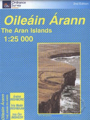 The Aran Islands Map, Republic of Ireland
