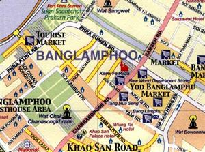 Bangkok, Thailand, Asia - ITMB International Travel Maps