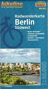 Berlin Southwest Cycling Map - Bikeline