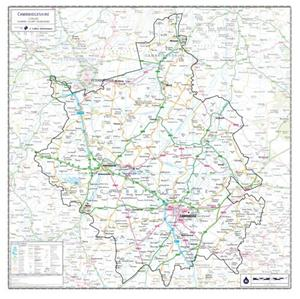 Cambridgeshire - County Maps