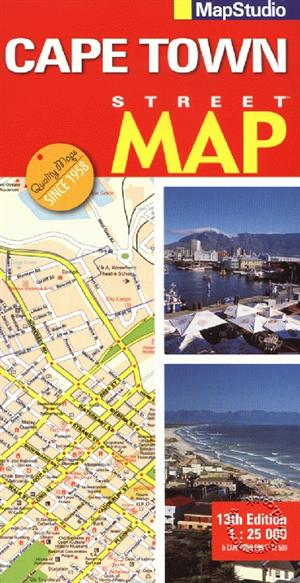 Cape Town Street Map South Africa Map Studio ISBN 9781868098859