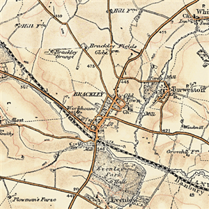Site Centered Historical Maps-Ordnance Survey Revised New Series
