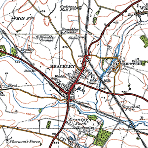 Site Centered Historical Maps-Ordnance Survey Popular Edition
