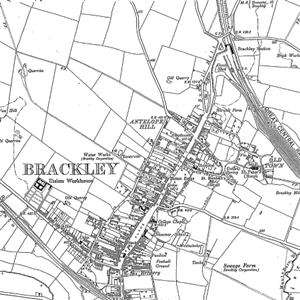 Site Centered Historical Maps-Ordnance Survey Old Series