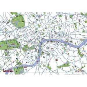 London, England, Wall Map, Childrens