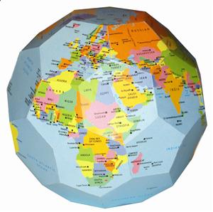 Promotional Globes-  Paper Globes and Mova Globes
