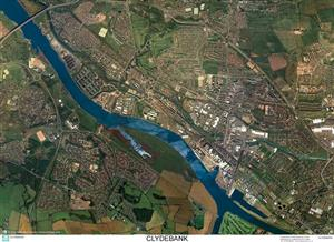 SkyView Clydebank Aerial Photo- Scotland