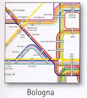 Bologna Transport Map, Italy. Bus Map