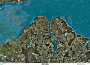 SkyView Cowes Aerial Photo- Isle of Wight, England