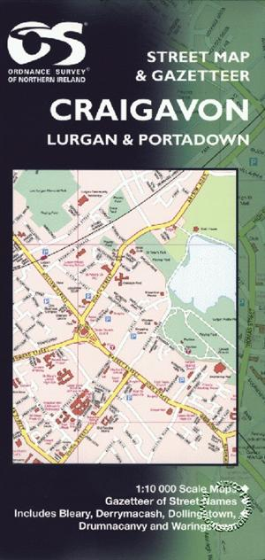Craigavon Street Map - Ordnance Survey Northern Ireland