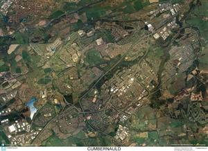 SkyView Cumbernauld Aerial Photo- Scotland