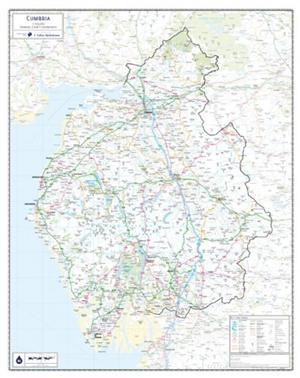 Cumbria - County Maps