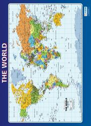 The World Map/Poster - Daydream Education