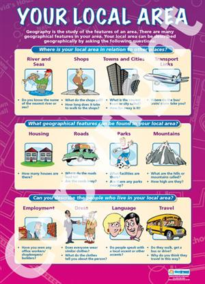 Your Local Area Education Poster Daydream Education