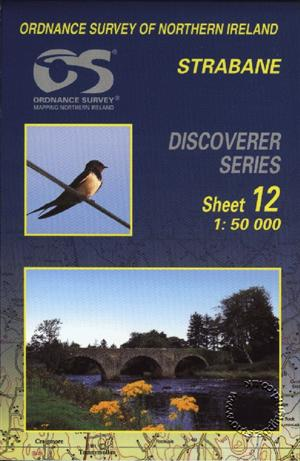 Strabane Discoverer Guide Map - Ordnance Survey Northern Ireland
