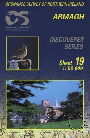 Armagh Discoverer Guide Map - Ordnance Survey Northern Ireland