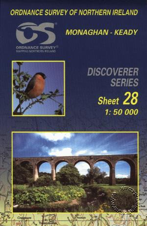 Monaghan-Keady Discoverer Guide Map - Ordnance Survey Northern Ireland
