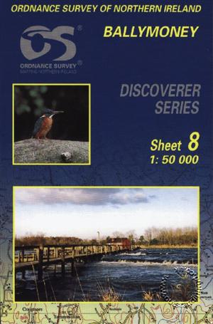 Ballymoney Discoverer Guide Map - Ordnance Survey Northern Ireland