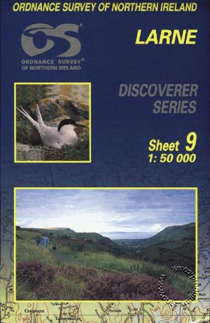 Larne Discoverer Guide Map - Ordnance Survey Northern Ireland