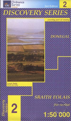 Donegal (N Cent), Republic of Ireland, Discovery 2 Map