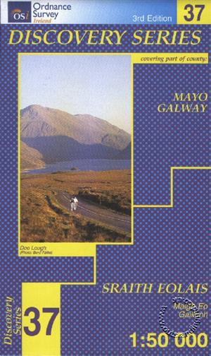 Mayo (SW) Galway, Republic of Ireland, Discovery 37 Map