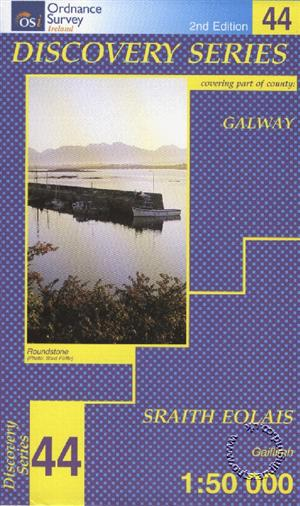 Galway, Republic of Ireland, Discovery 44 Map