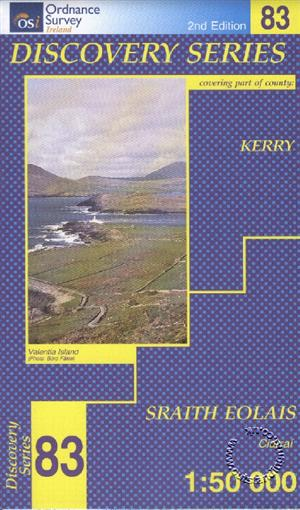 Kerry, Republic of Ireland, Discovery 83 Map