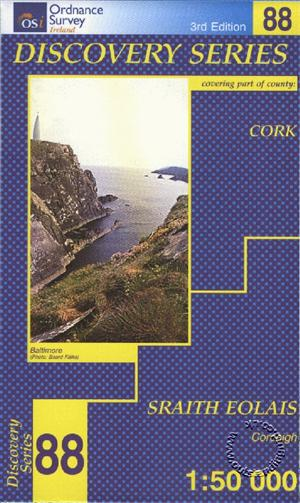 Cork, Republic of Ireland, Discovery 88 Map