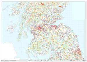 05 South Scotland - Postcode District Map - PDF