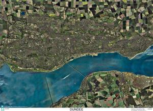 SkyView Dundee Aerial Photo- Scotland