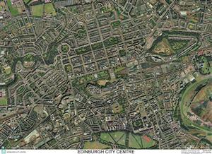 SkyView Edinburgh City Centre Aerial Photo- Scotland