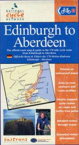 Edinburgh to Aberdeen, Scotland - Cycle Map - Sustrans