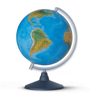 Elite Globe - 30cm - Illuminated - Physical and Political Features