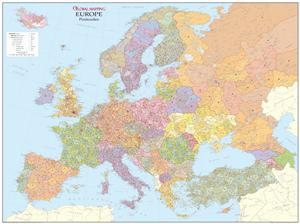 Europe Postcode map encapsulated for Endrit Mucoima version 3