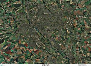 SkyView Exeter, Devon Aerial Photo- England