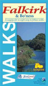 Falkirk and Bo'ness, Scotland - Footprint Maps - Walking Guide