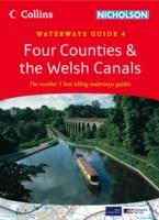 Four Counties & the Welsh Canals Waterways Guide/Map - Collins/Nicholson