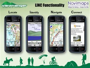Wales, ViewRanger Off-Road SatNav for your Mobile Phone ...New....