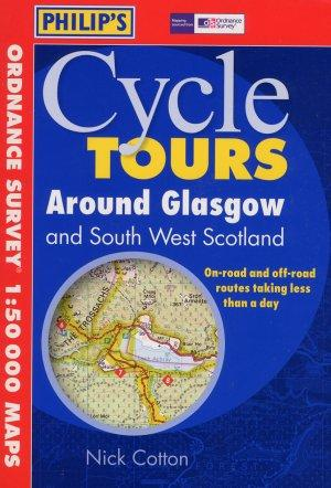 Glasgow (cycle tours around), Scotland - Philip's Map - Cycle Guide