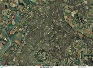 SkyView Gloucester Aerial Photo- England