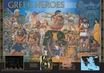 Greek Heroes Poster - Wildgoose