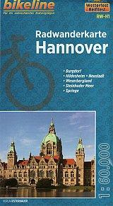 Hannover Cycling Map - Bikeline