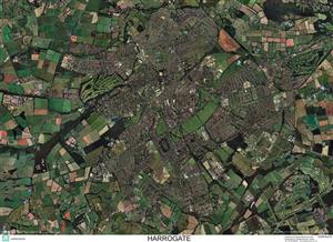 SkyView Harrogate, Yorkshire Aerial Photo- England