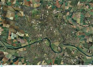 SkyView Hereford Aerial Photo- England