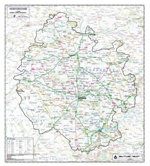 Herefordshire - County Maps