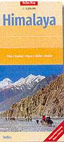 Himalaya, Argentina, South America - Travel Map - Nelles Maps