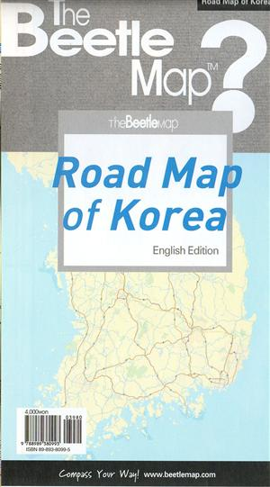 Road Map of Korea (English Version) - Bettlemap